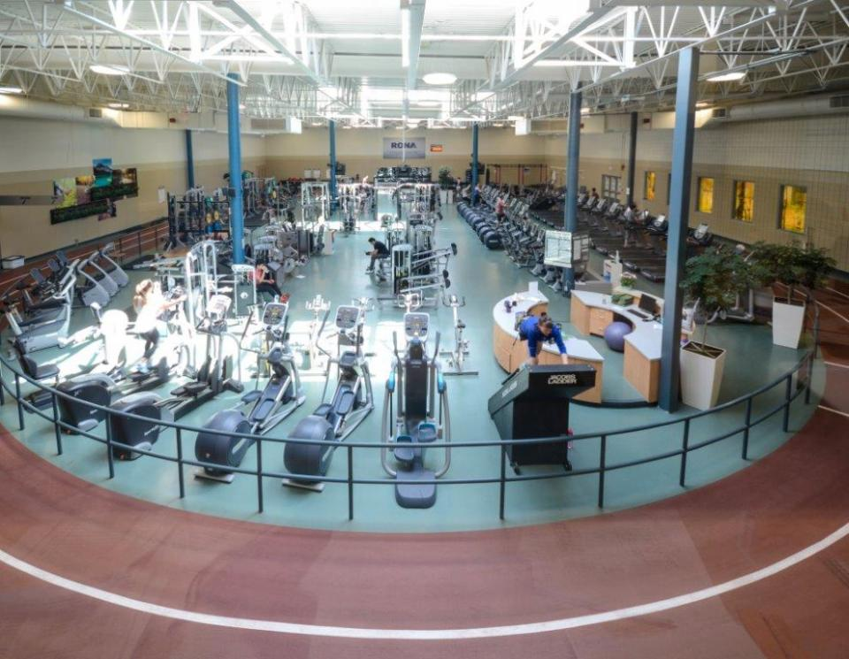 Trico Centre's Fitness Area